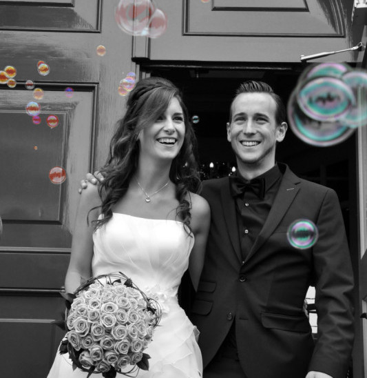 Bruiloft reportage Rick & Sanne